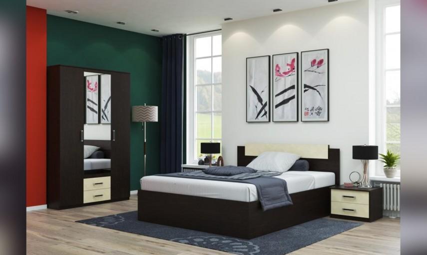 модульная спальня соната композиция 2 купить за 26 863 руб